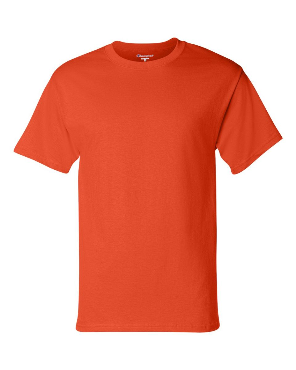 49253af53 A 100% Cotton T-shirt Made by Champion great for all sports. Ash is 99%  cotton 1% polyester Light Steel is 90% Cotton 10% Polyester and Charcoal  Heater is ...