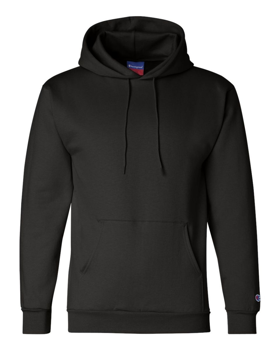 56be041fa3a7 S700 Champion Logo 50 50 Pullover Hoodie Black