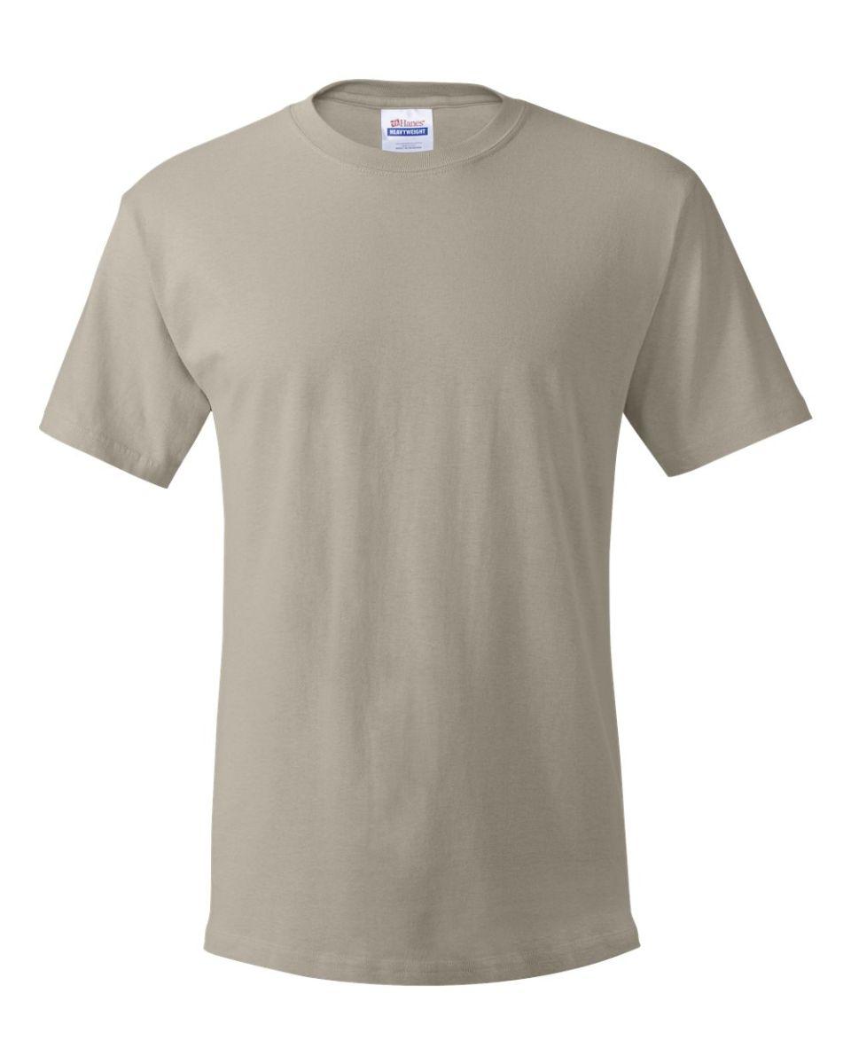 9b4815e2 ... 5280 Hanes® Heavyweight T-shirt Sand ...