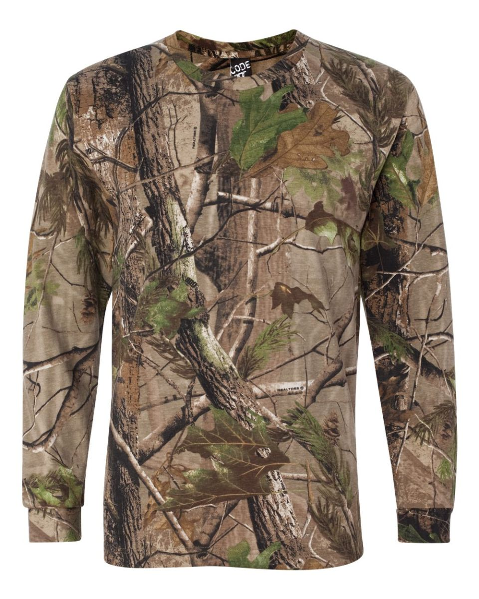 0f211137 ... 3981 Code V Realtree Long Sleeve T-shirt RealTree APG ...