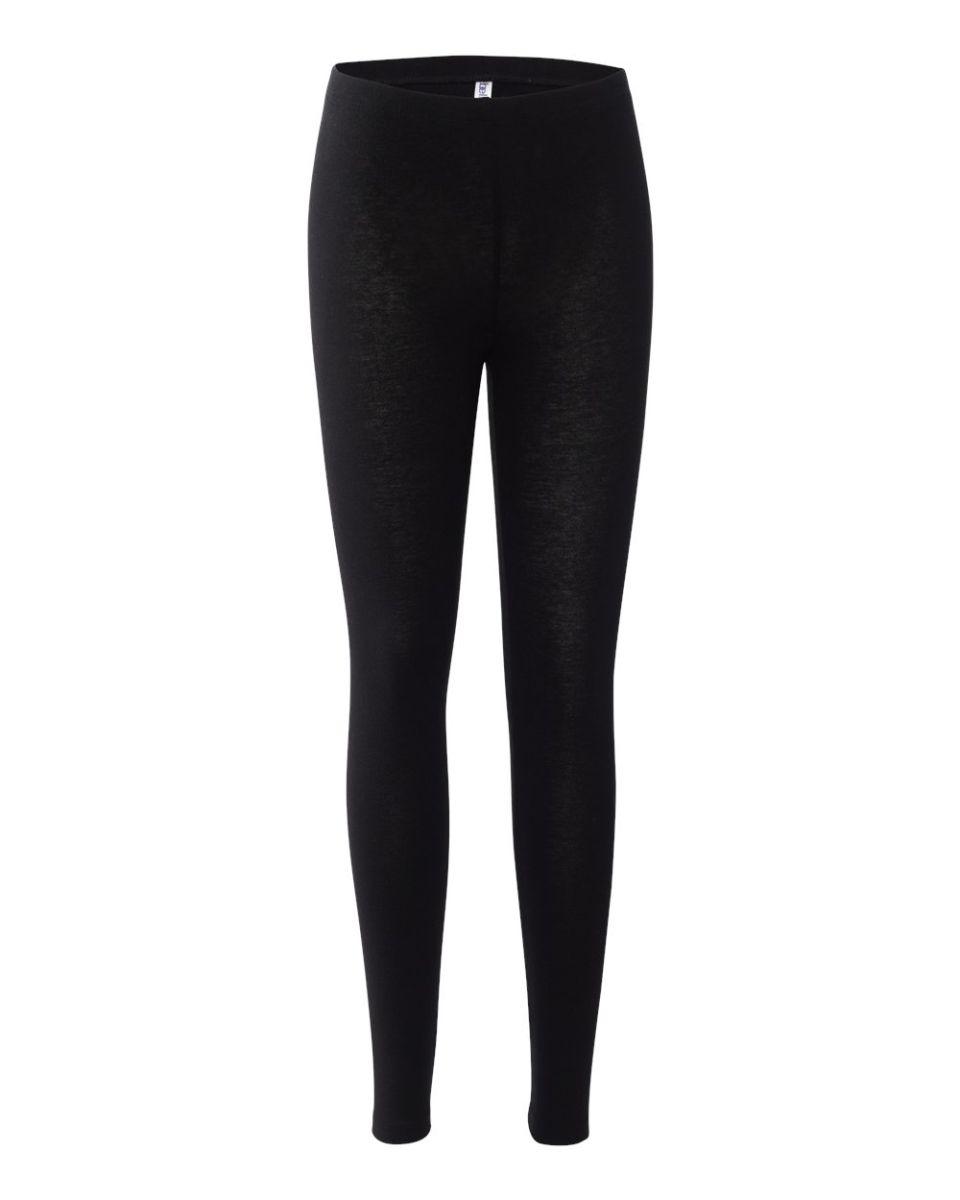f7afe8901cef1 BELLA 812 Womens Jersey Leggings BLACK ...