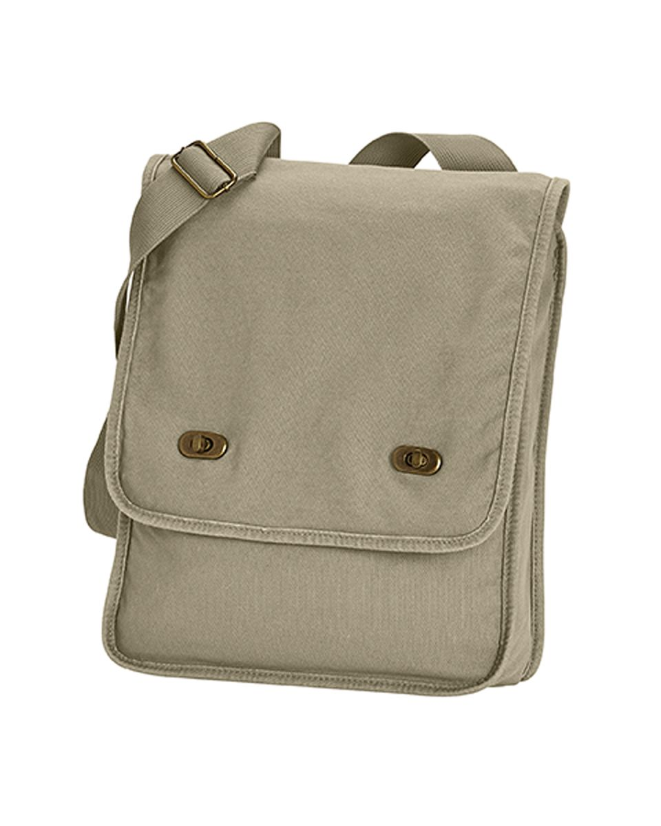 5182c21f38 ... Comfort Colors 343 Canvas Field Bag Khaki ...