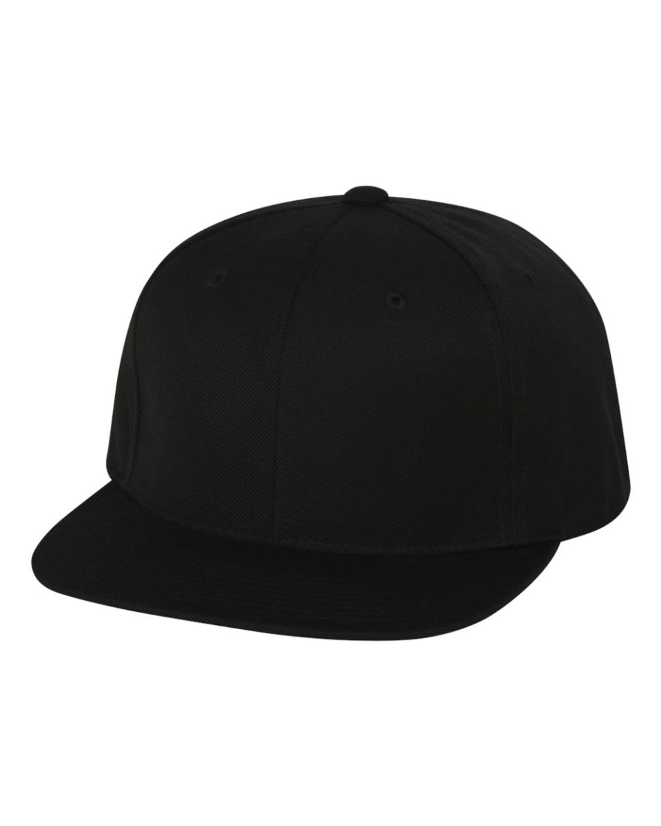 0e503d73e 6089M Yupoong Classic Snapback Cap GREEN Under Bill