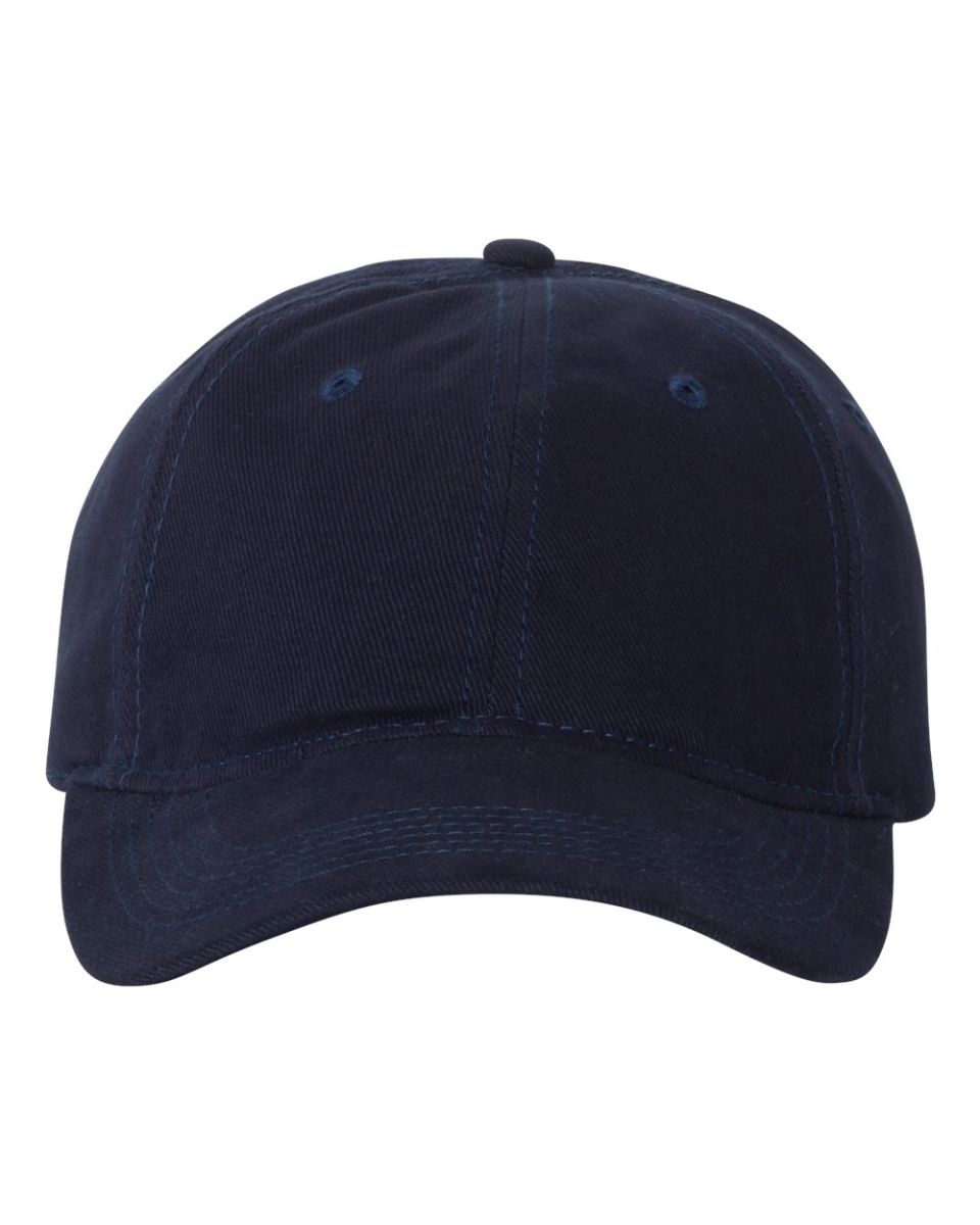 14d53d5a198 ... Valucap VC250 Unstructured Heavy Brushed Twill Cap Navy ...