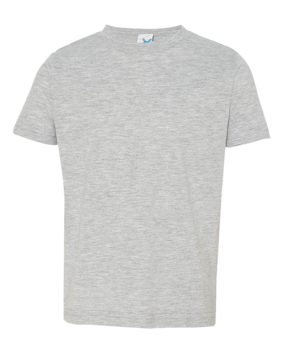 6788f1c549 ... 3321 Rabbit Skins Toddler Fine Jersey T-Shirt HEATHER ...