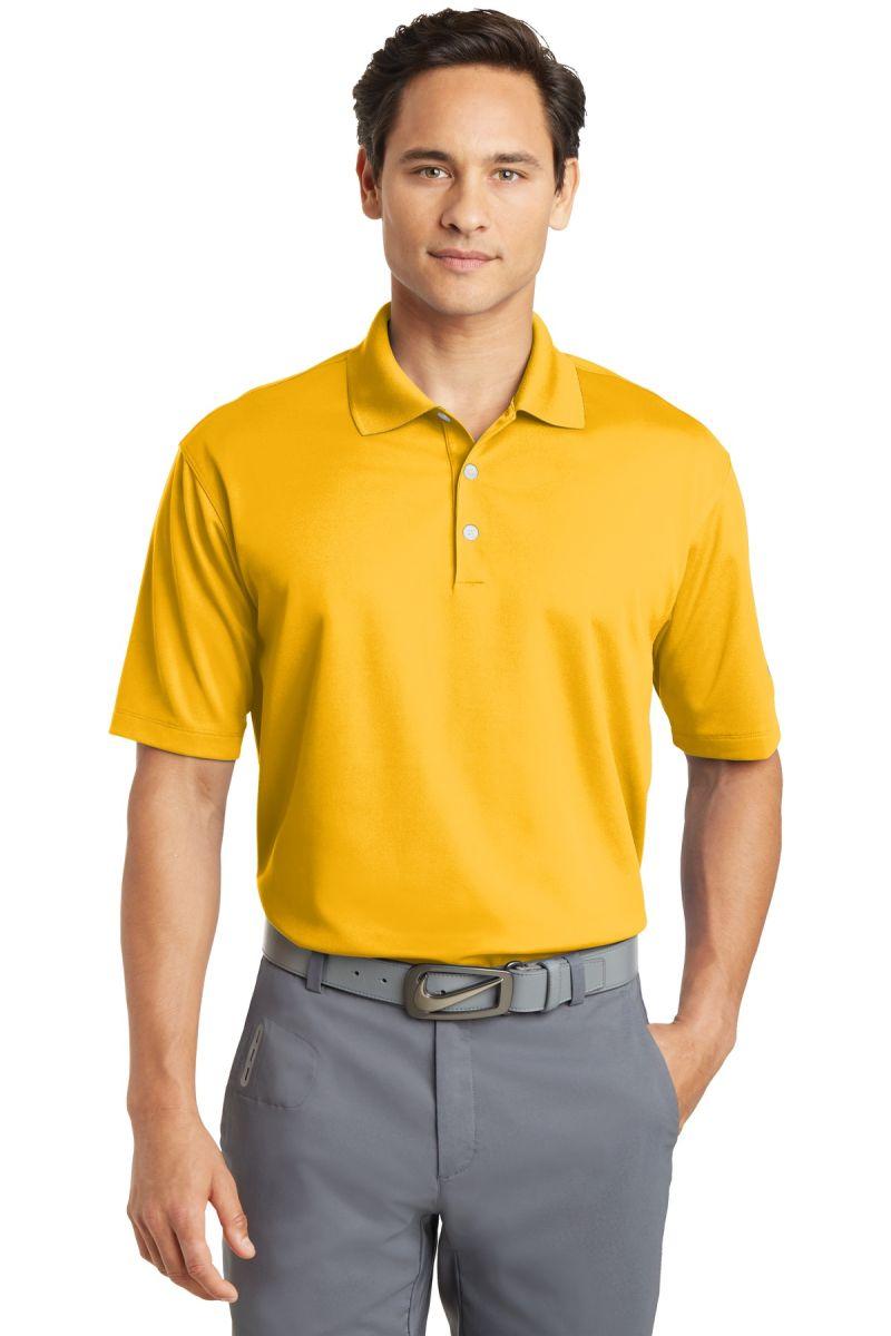 25738799 ... 363807 Nike Golf Dri FIT Micro Pique Polo University Gld ...