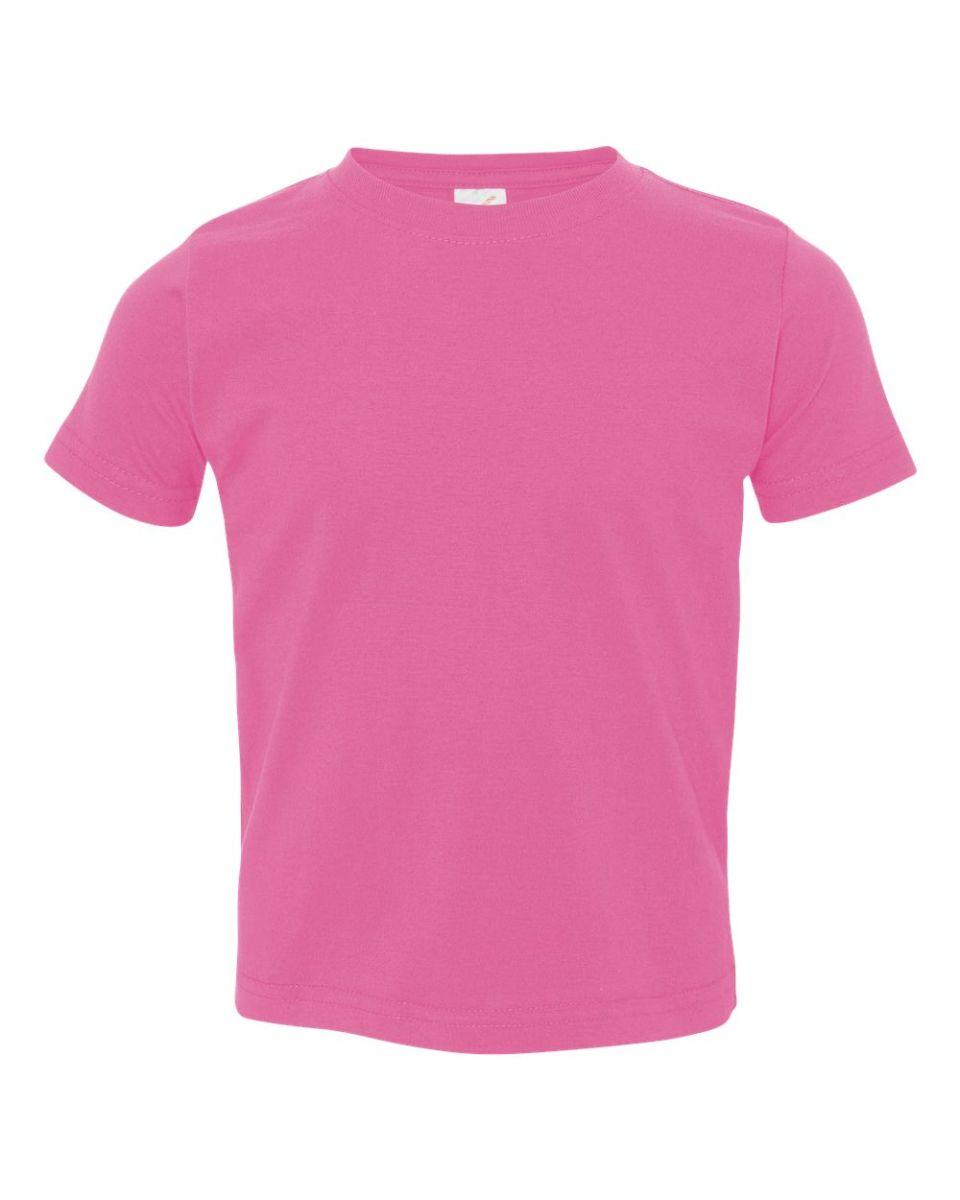 a91f8688d5 ... 3321 Rabbit Skins Toddler Fine Jersey T-Shirt RASPBERRY ...