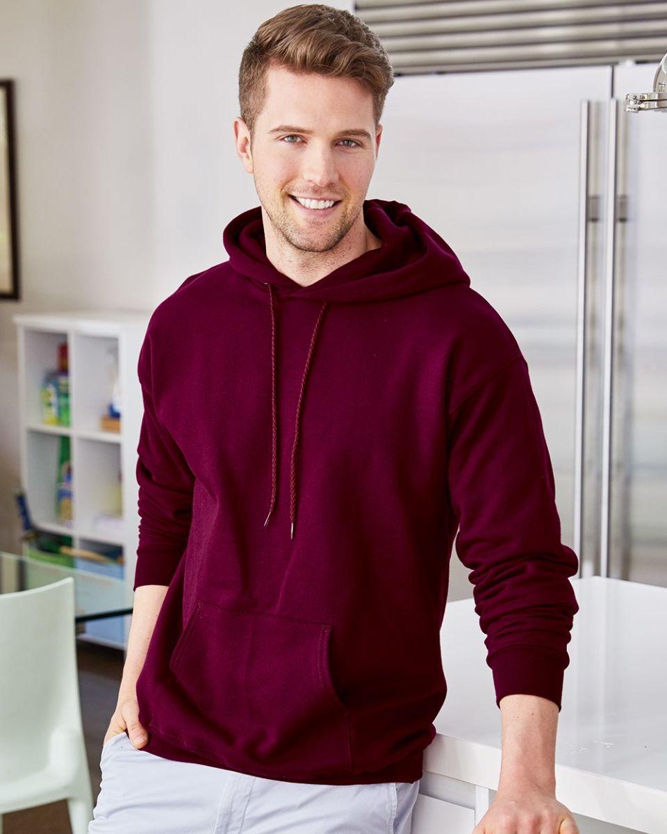196cb12645c F170 Hanes® PrintPro®XP™ Ultimate Cotton® Hooded Sweatshirt