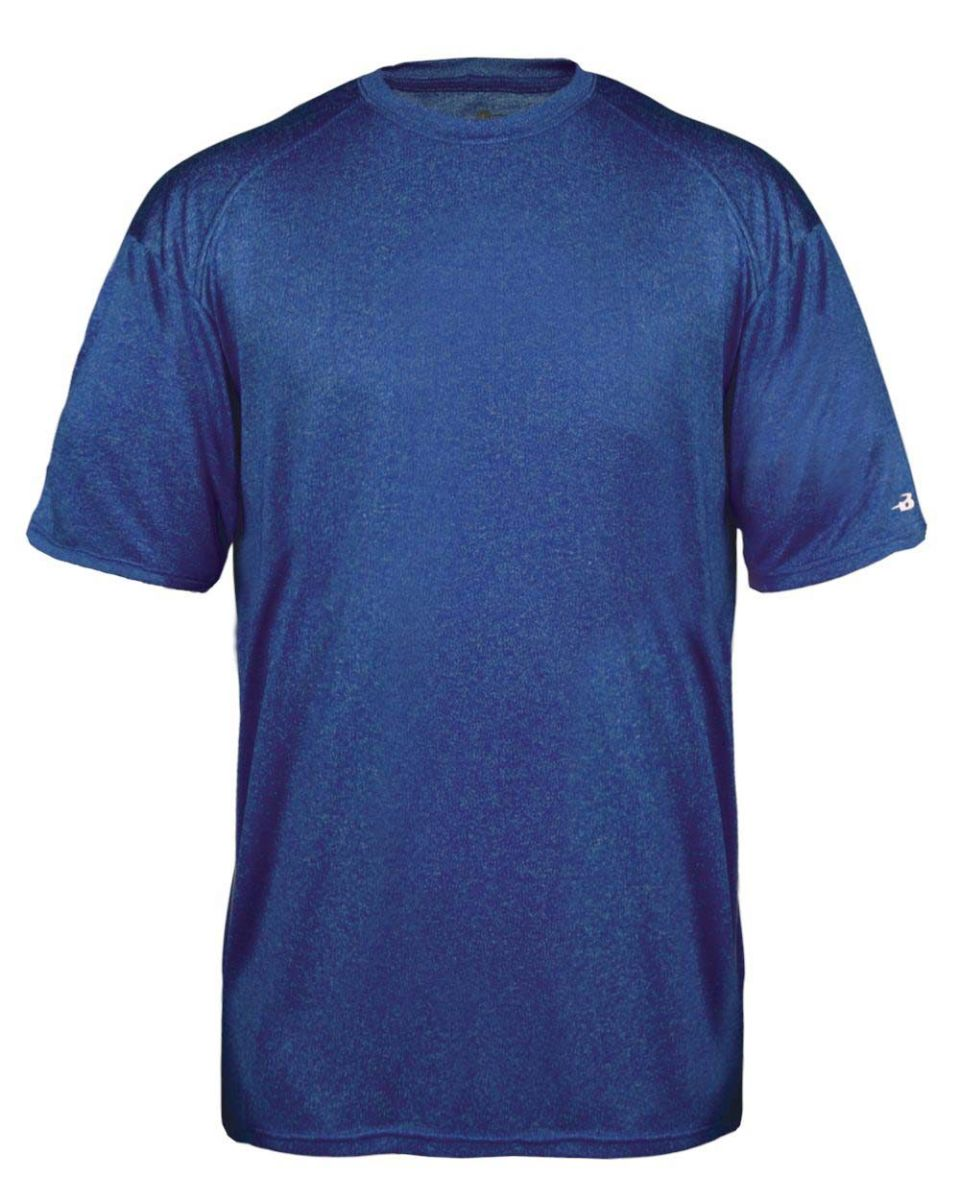 57eb8945 Badger Sportswear 2320 Pro Heather Youth Short Sleeve T-Shirt