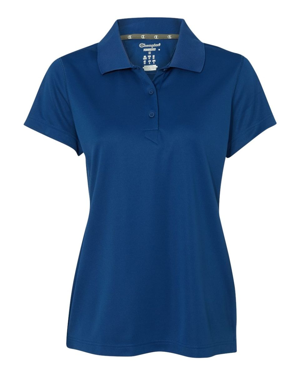 a4176c47ebec Champion H132 Ultimate Double Dry Women s Performance Sport Shirt Athletic  Royal ...