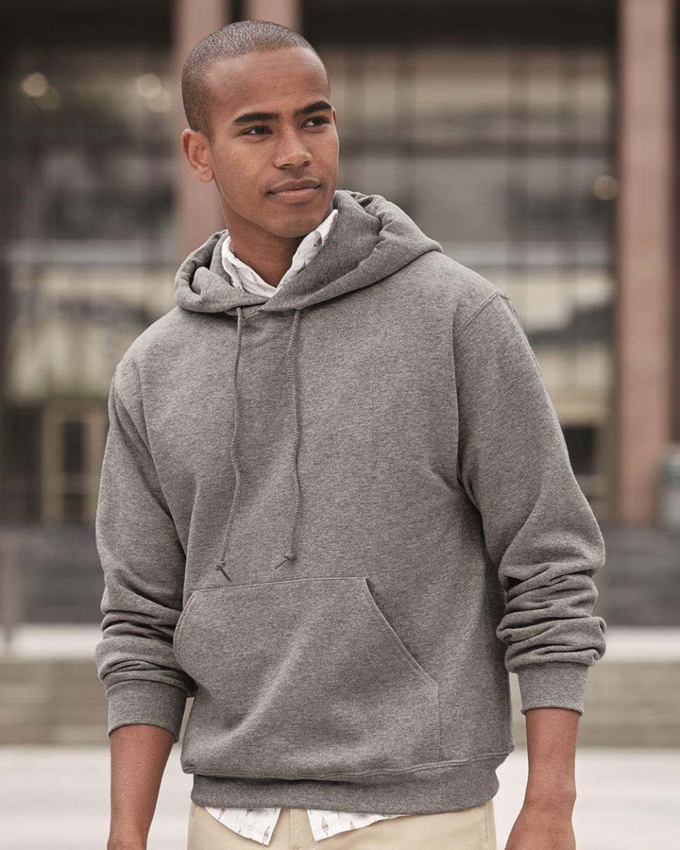 4997 Jerzees Adult Super Sweats® Hooded Pullover Sweatshirt 82b1a9e4d