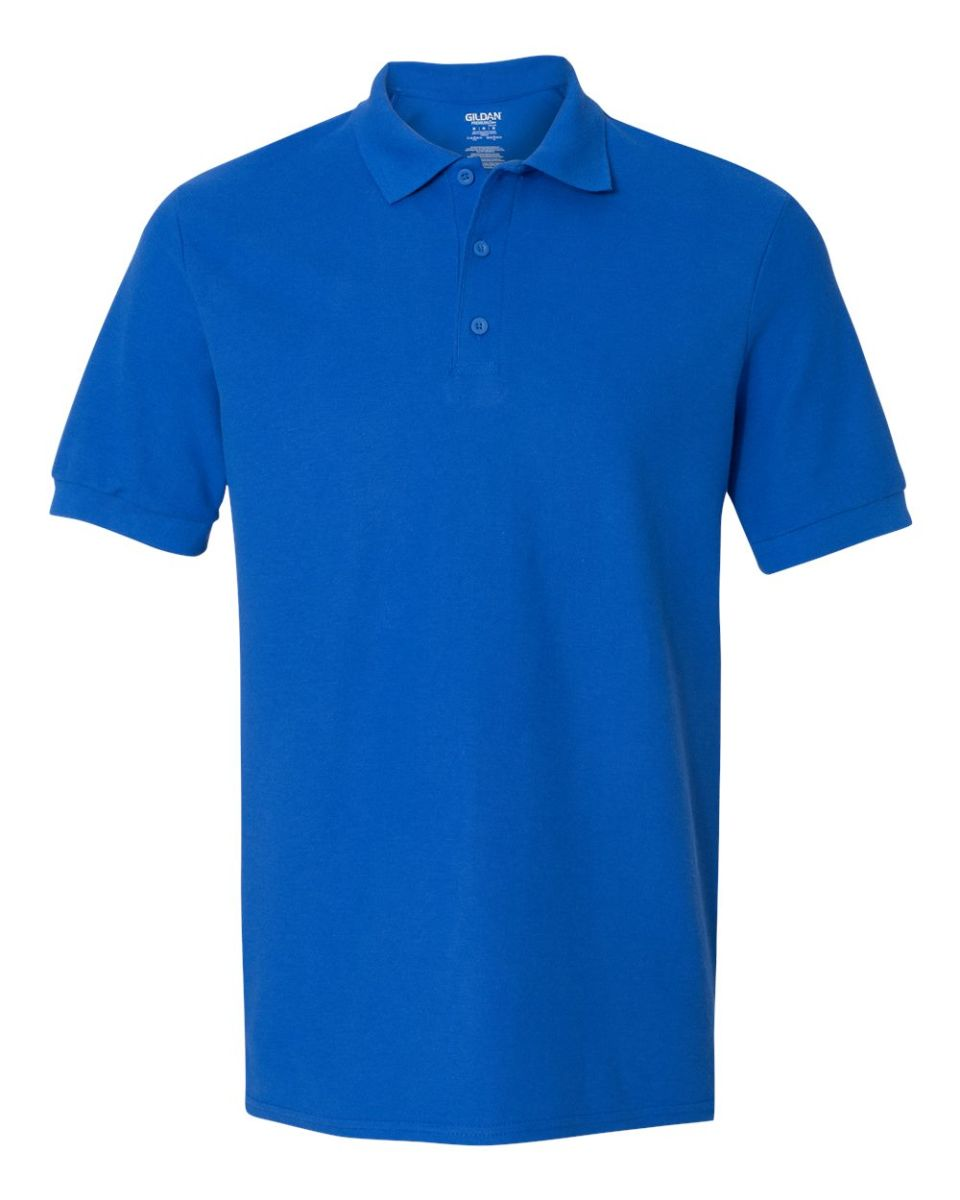 029e95a4 ... 82800 Gildan Premium Cotton™ Adult Double Piqué Polo ROYAL ...