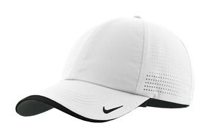... 429467 Nike Golf - Dri-FIT Swoosh Perforated Cap White ... 5889f17927c