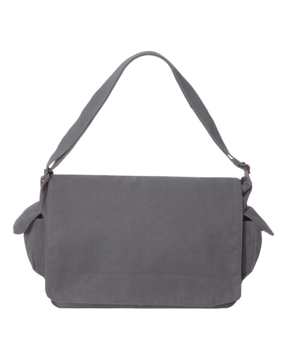 C374 Carolina Sewn Peach Skin Messenger Bag