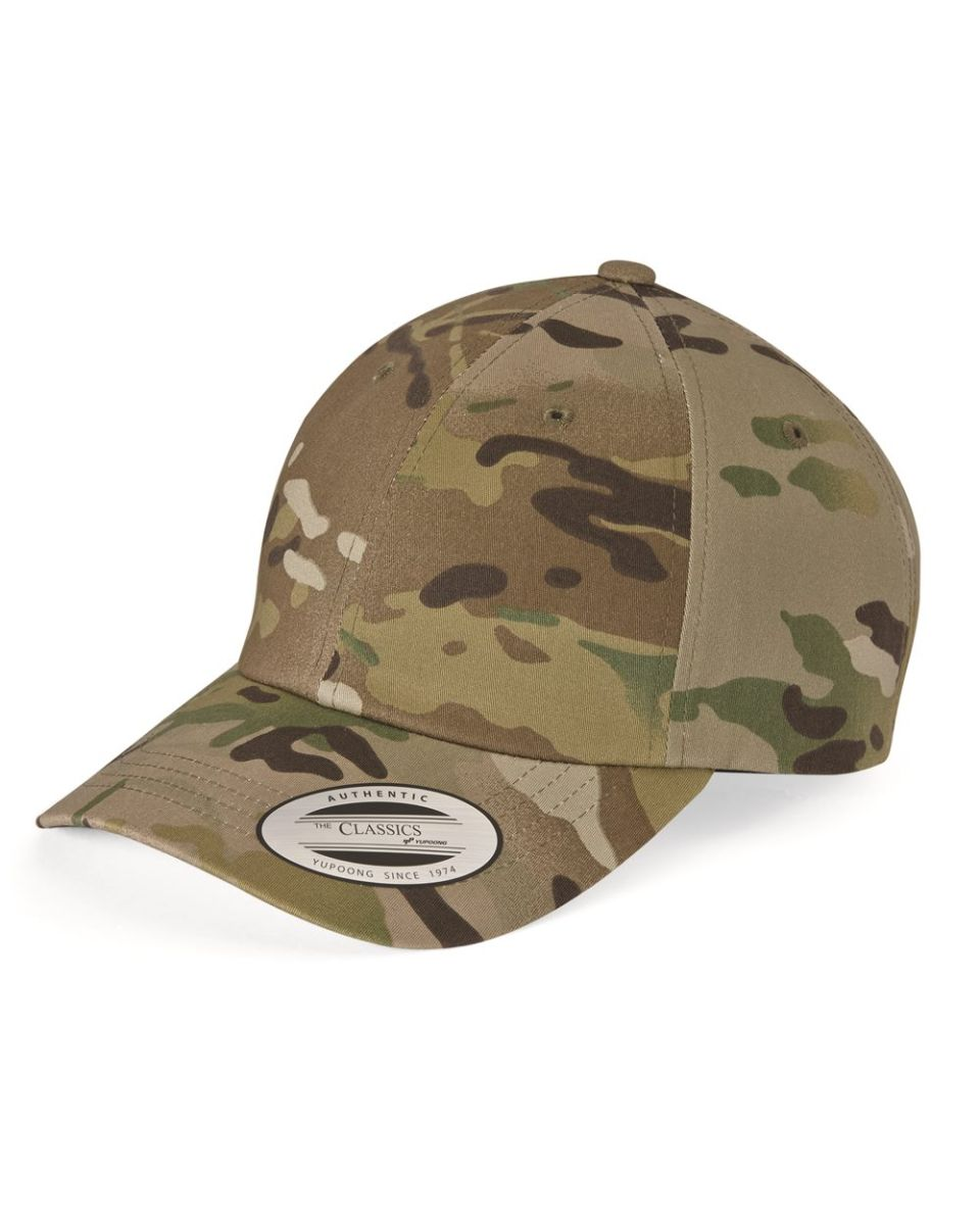 Yupoong 6245CM Unstructured Classic Dad Hat 363ee54b867c