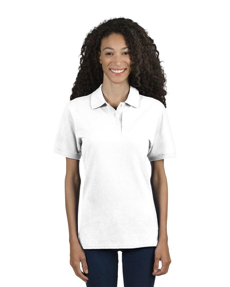 35325e68 ... Jerzees 443W Women's Easy Care Double Mesh Ringspun Pique Sport Shirt  ...
