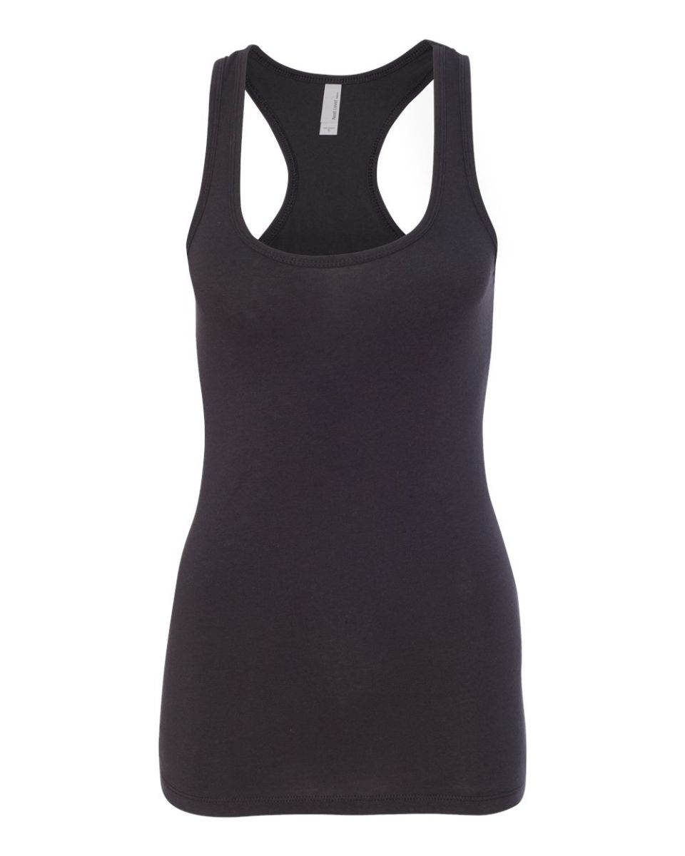 374c505a Next Level 6633 The Jersey Racerback Tank BLACK ...
