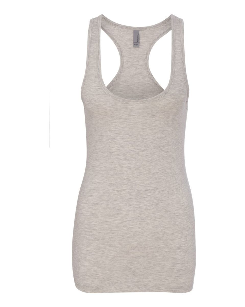 c5cfd6d7 ... Next Level 6633 The Jersey Racerback Tank LT HEATHER GRAY ...