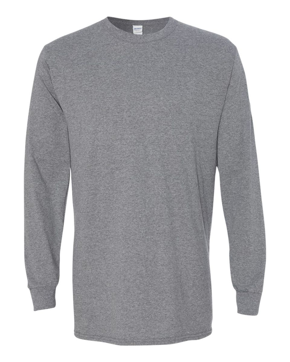 bfd435d9ecab ... 5400 Gildan Adult Heavy Cotton Long-Sleeve T-Shirt GRAPHITE HEATHER ...