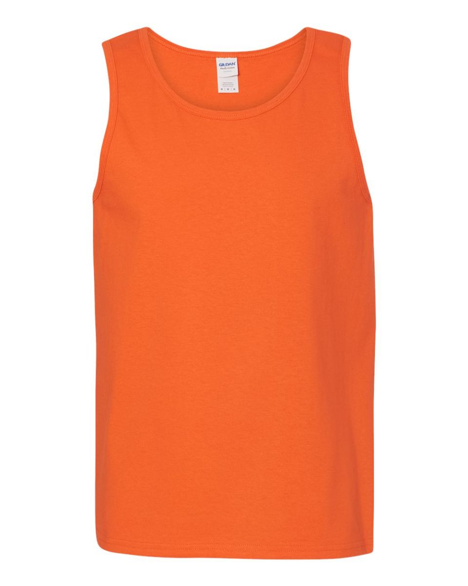 fac3320547 ... Gildan 5200 Heavy Cotton Tank Top ORANGE ...