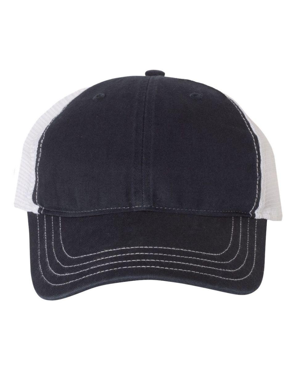 Richardson Mens Garment Washed Trucker Cap unstructured low-profile Hat 111