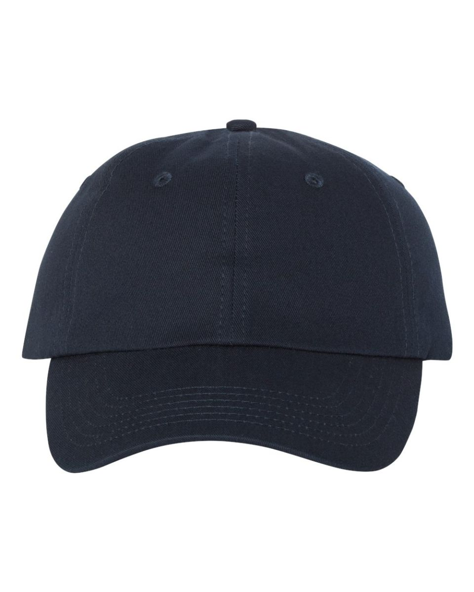 a0dd8ca5 ... Valucap VC650 Chino Unstructured Cap Navy ...