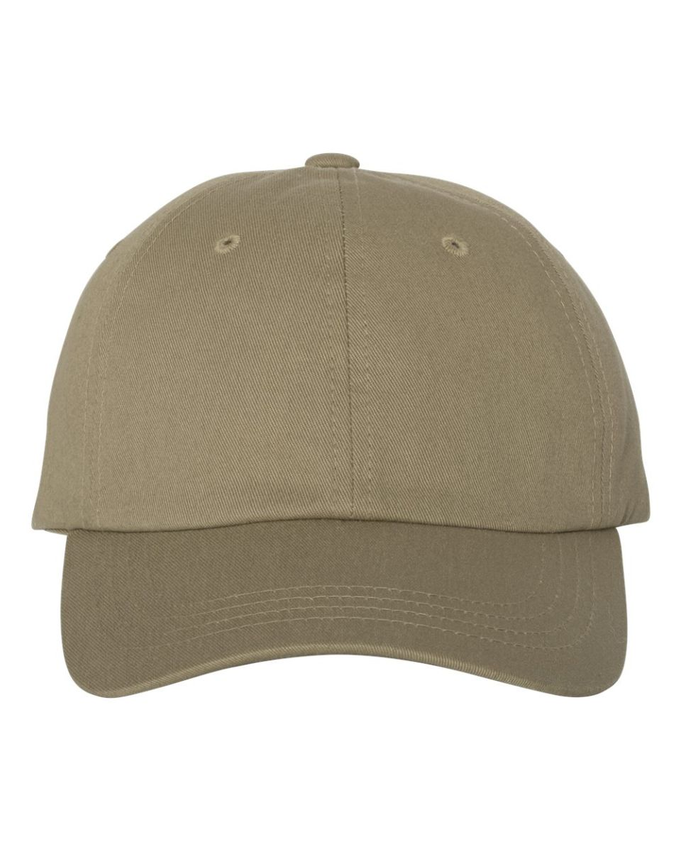 ... Yupoong 6245CM Unstructured Classic Dad Hat KHAKI ... cc9bc3f710e7