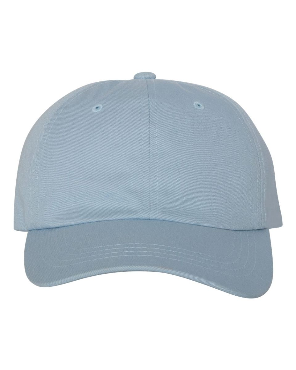 9fd446ce921 ... Yupoong 6245CM Unstructured Classic Dad Hat LIGHT BLUE ...