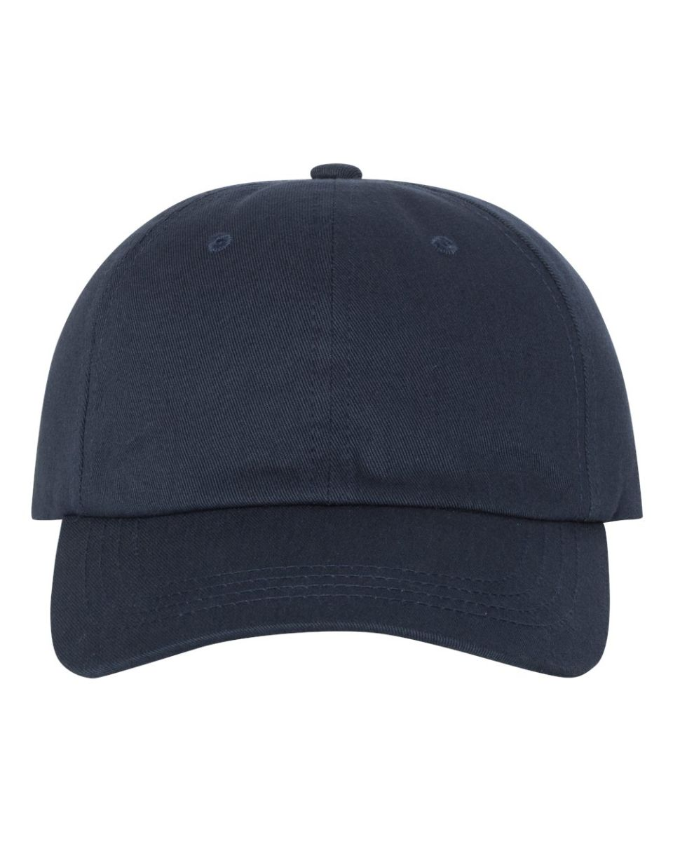 6147aef8 ... Yupoong 6245CM Unstructured Classic Dad Hat NAVY ...