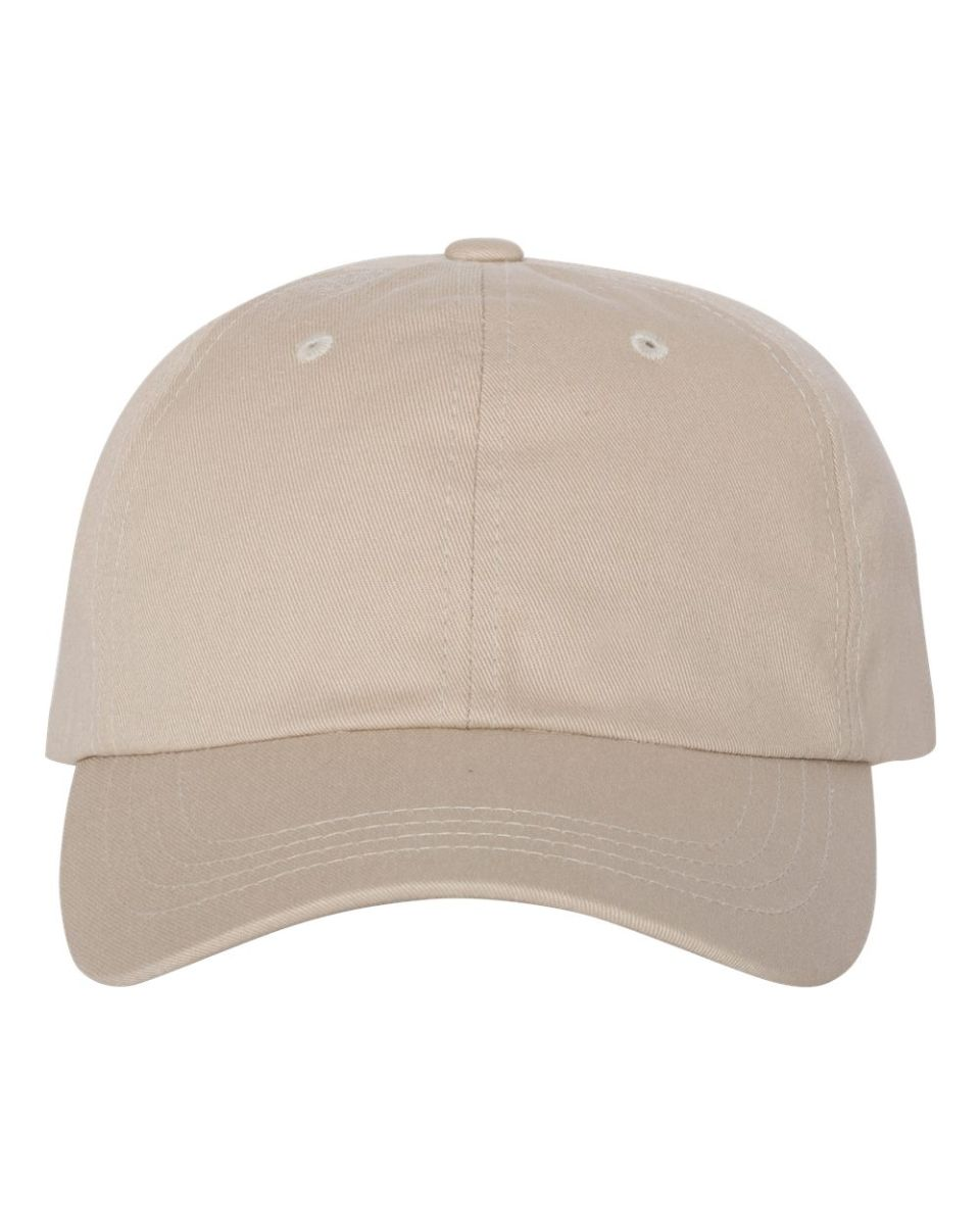 d42e5dd4542 ... Yupoong 6245CM Unstructured Classic Dad Hat STONE ...