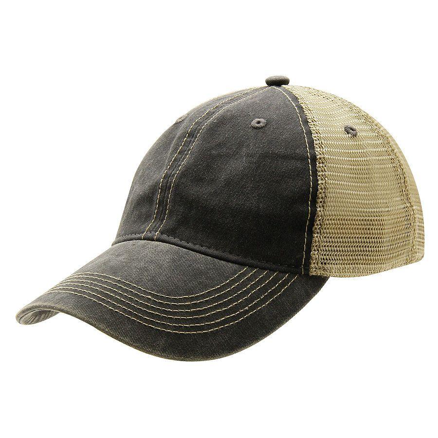 ... Ouray 51286 Legend Vin Trucker Cap Charcoal Khaki ... d0d92b08291