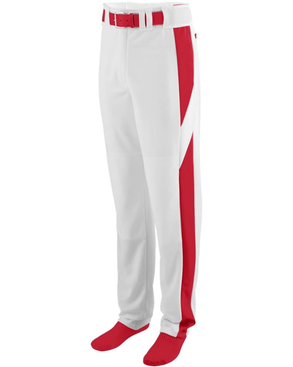 Augusta Sportswear Mens Series Knee Length Baseball Pant S Black