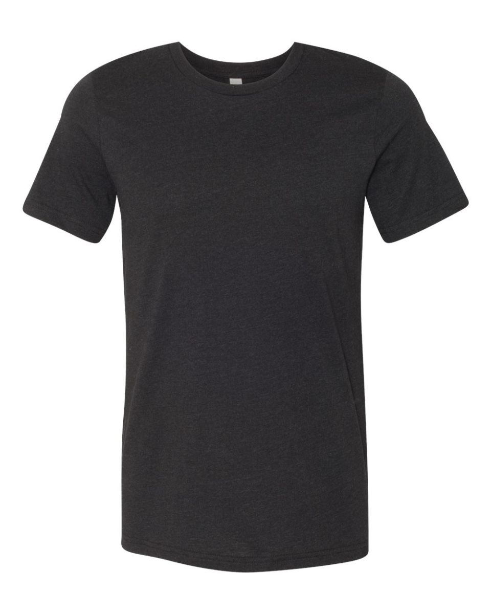 Free Black T Shirt Bella Canvas 3001 Mockup St Patricks: BELLA+CANVAS 3001