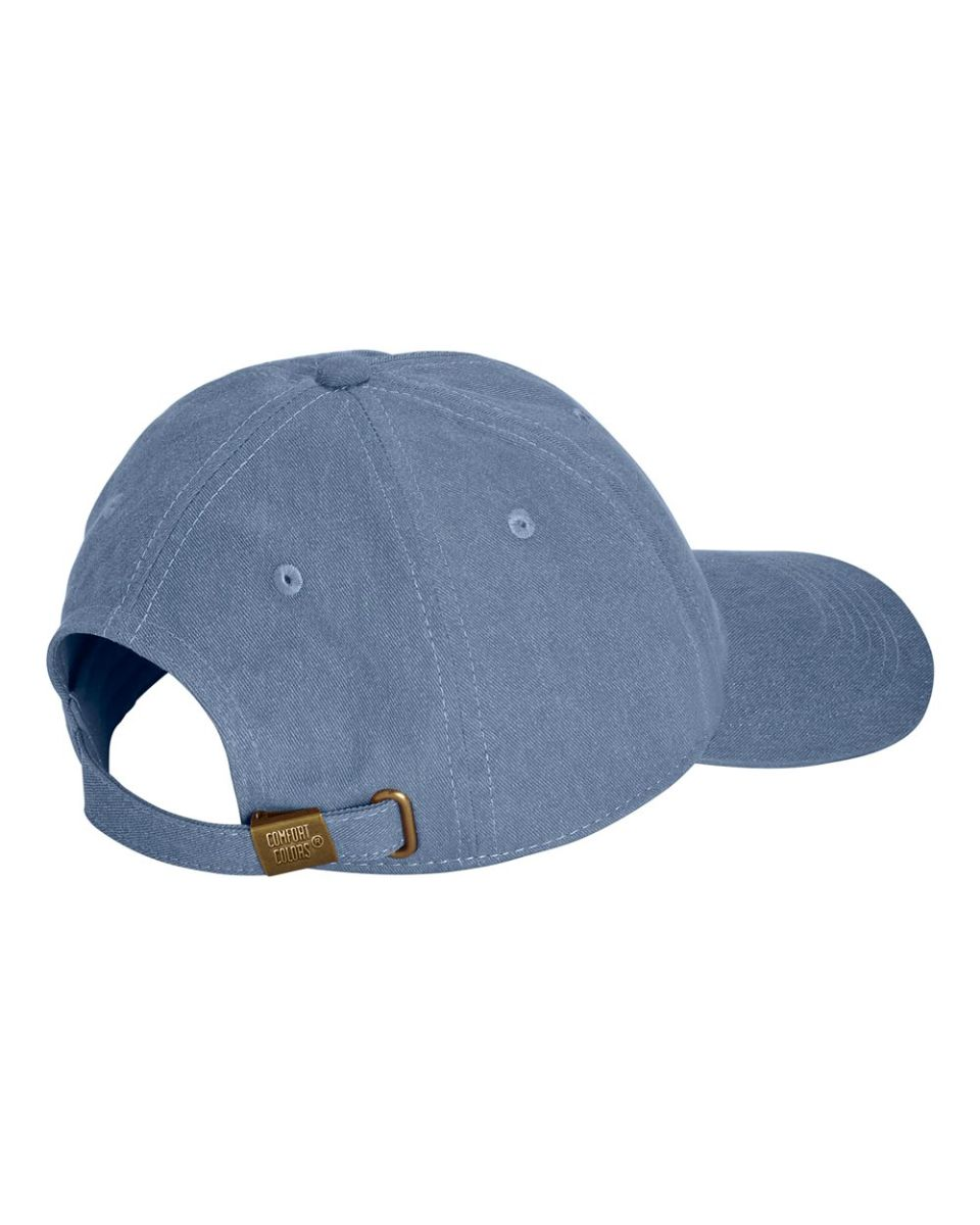 ... Comfort Colors 104 Pigment Dyed Canvas Baseball Cap Blue Jean ... 3dafeb55463