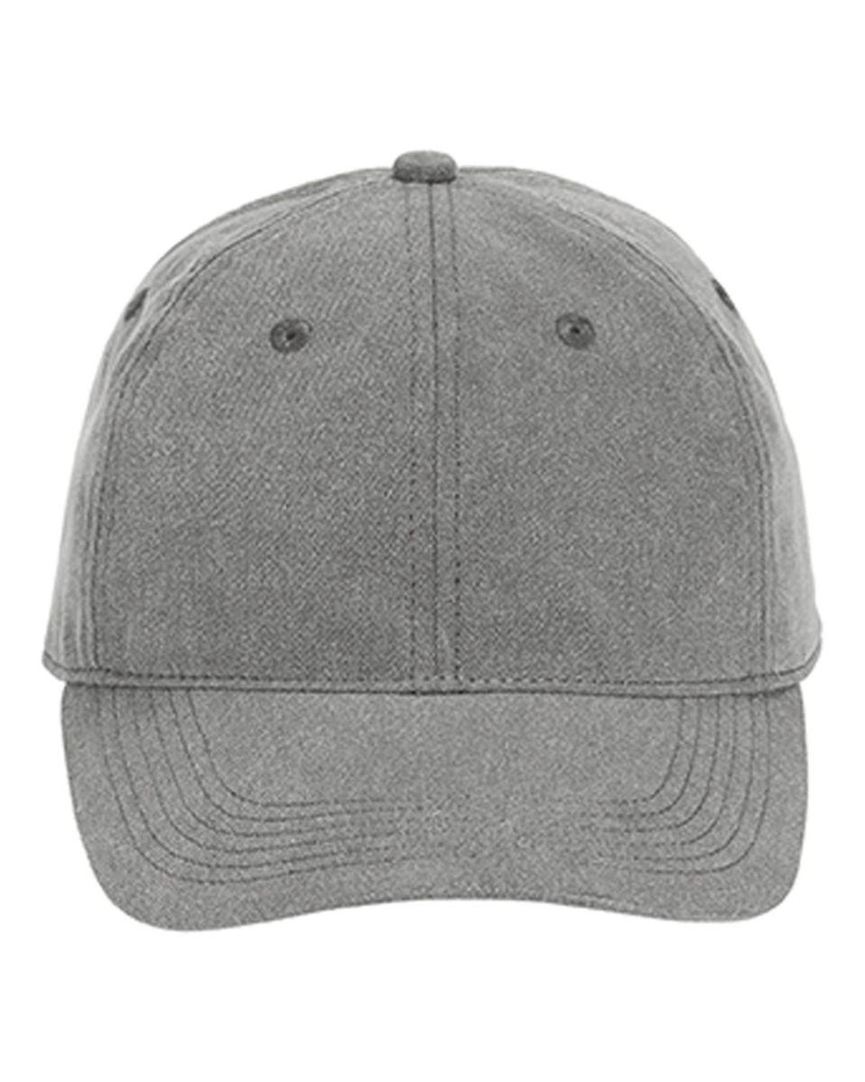 e872cc6ffa136 ... Comfort Colors 104 Pigment Dyed Canvas Baseball Cap Grey ...