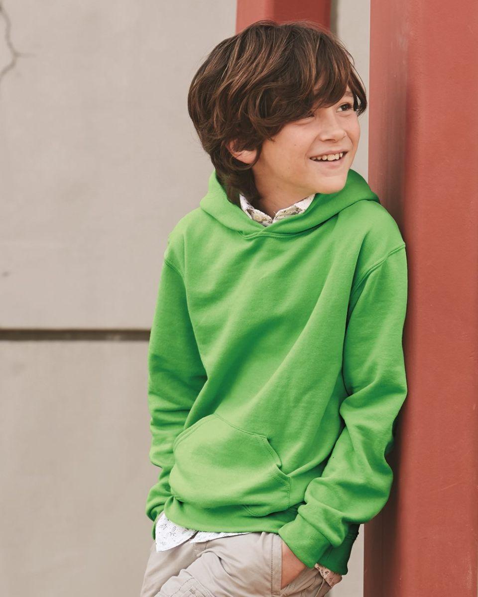 ac10219789b 996Y JERZEES® NuBlend™ Youth Hooded Pullover Sweatshirt