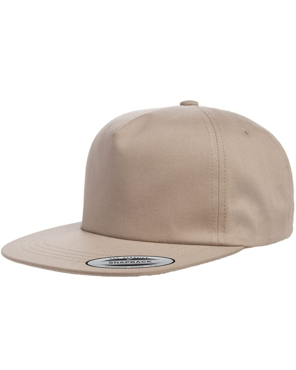 c30dbe1ea3f Yupoong-Flex Fit 6502 Unstructured Five-Panel Snapback Cap