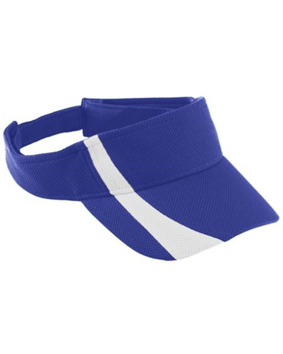 fd15ddc0 Augusta Sportswear 6261 Youth Adjustable Wicking Mesh Two-Color Visor