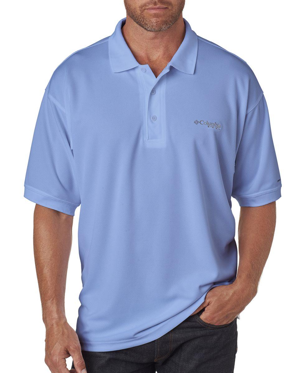 219c8176 ... Columbia Sportswear 6016 Men's Perfect Cast™ Polo WHITECAP ...