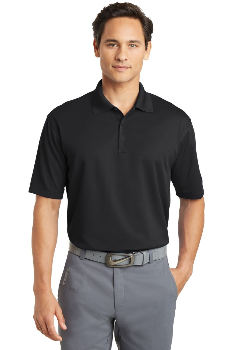 94c37e54 ... 604941 Nike Golf Tall Dri-FIT Micro Pique Polo Black ...