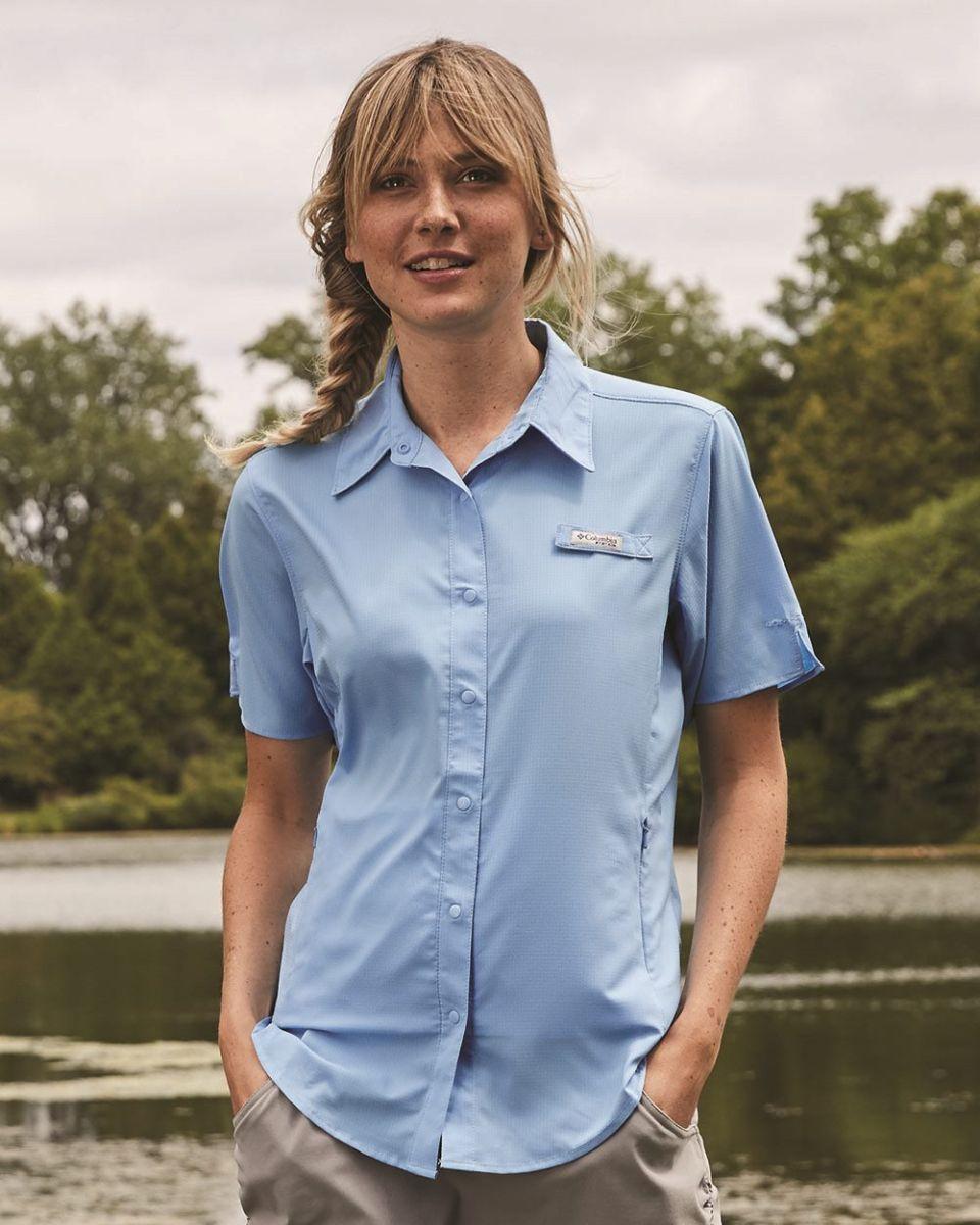 a1d5bbf94c4 Columbia Sportswear 7277 Ladies' Tamiami™ II Short-Sleeve Shirt