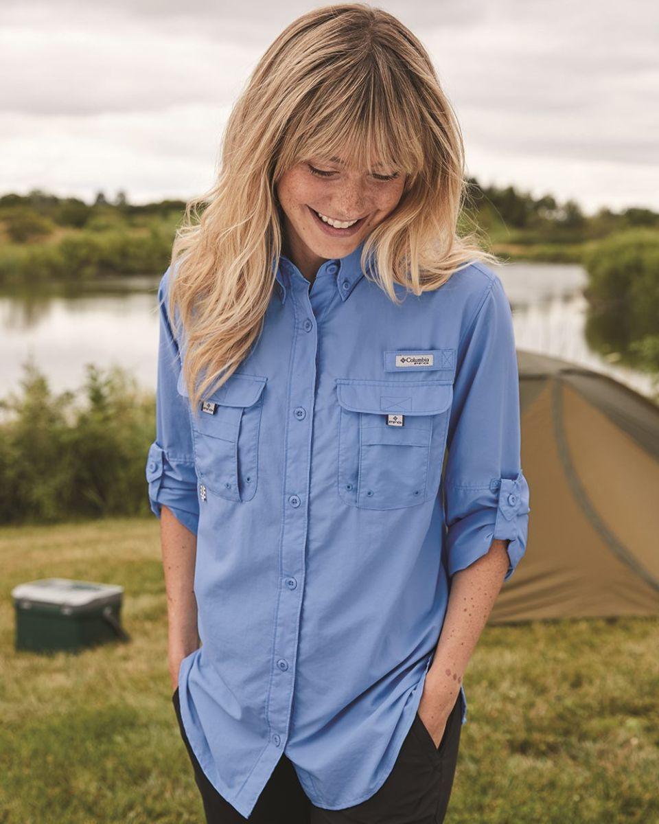 7730f79ee52 Columbia Sportswear 7314 Ladies' Bahama™ Long-Sleeve Shirt