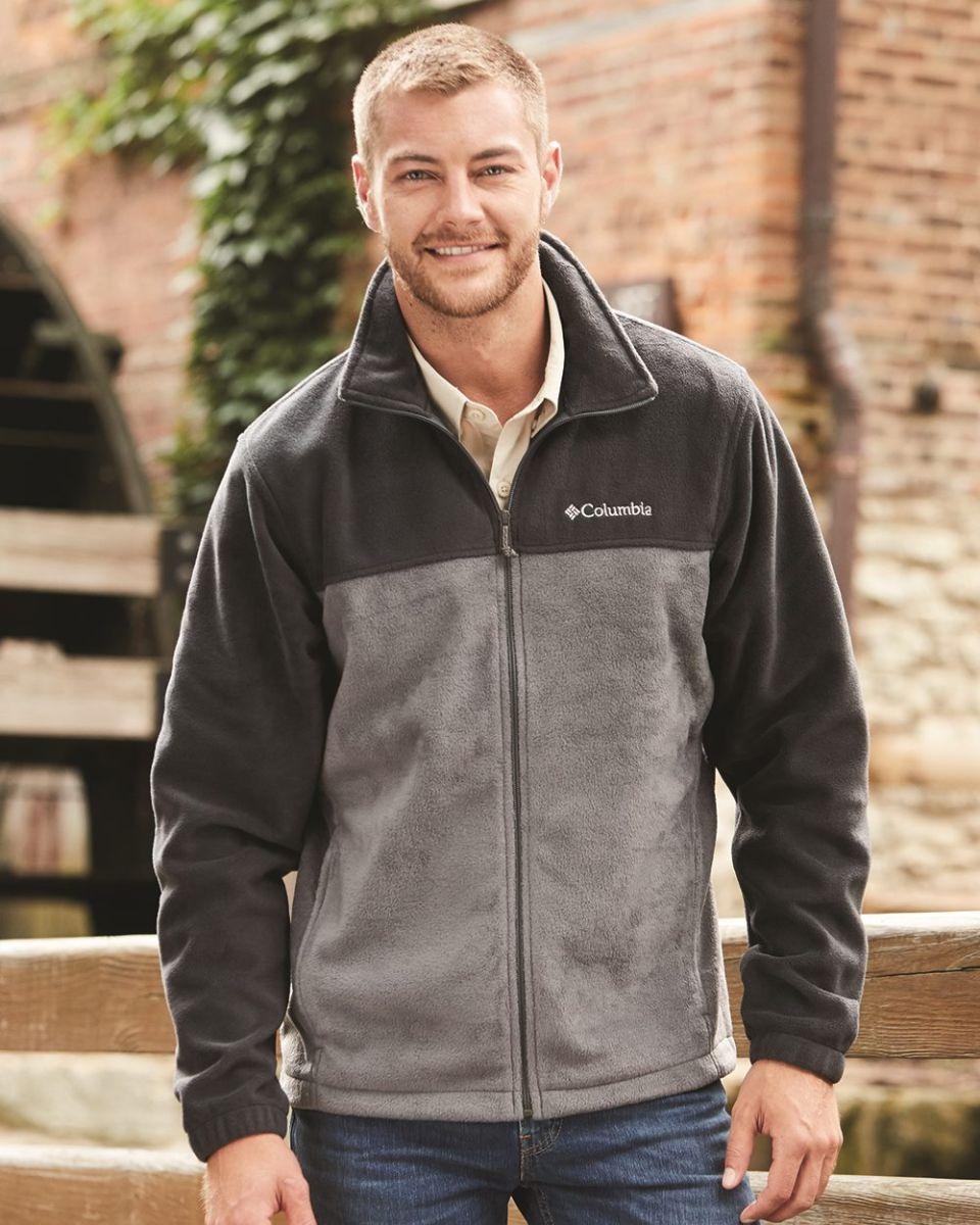 Columbia Men Fleece Jacket Steens Mountain 2.0 Vêtements