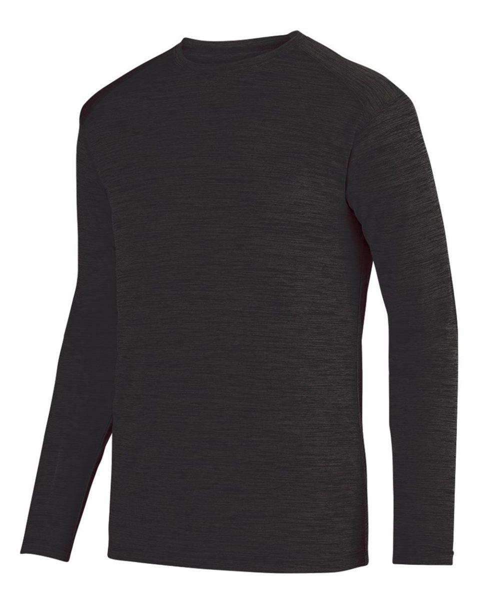 aea4681c Augusta Sportswear 2903 Shadow Tonal Heather Long Sleeve Tee