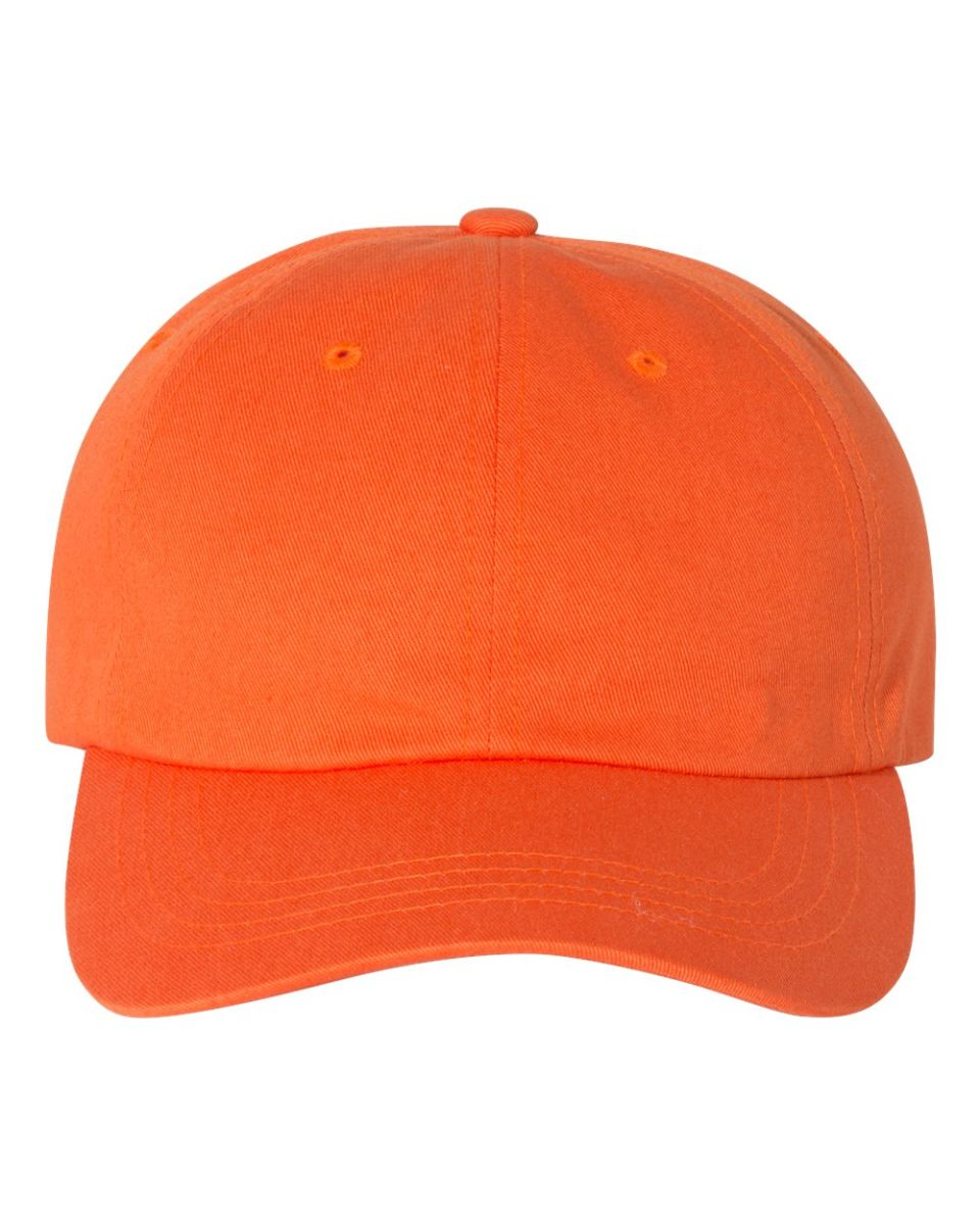 ... Yupoong 6245CM Unstructured Classic Dad Hat ORANGE ... 47f3076c72dc