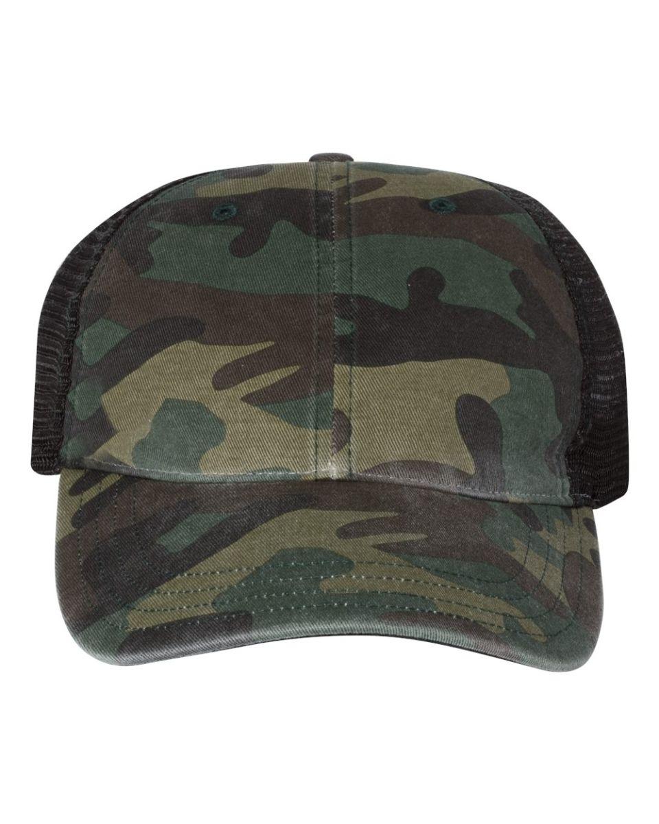 Gray Digital Camo Camouflage Grey Mesh 5 Panel Military Trucker Baseball Cap Hat