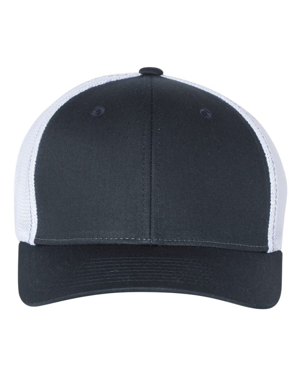 320557e21 Richardson Hats 110 Fitted Trucker with R-Flex