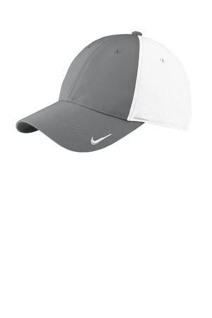 5e4d4403f04 ... 779797 Nike Golf Swoosh Legacy 91 Cap Dark Gry White ...