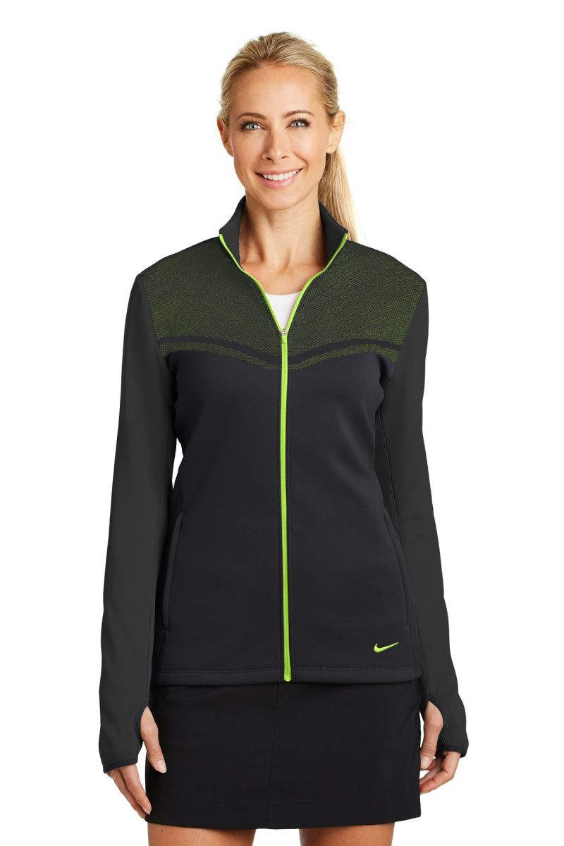 260e239d190e Nike Golf 779804 Ladies Therma-FIT Hypervis Full-Zip Jacket