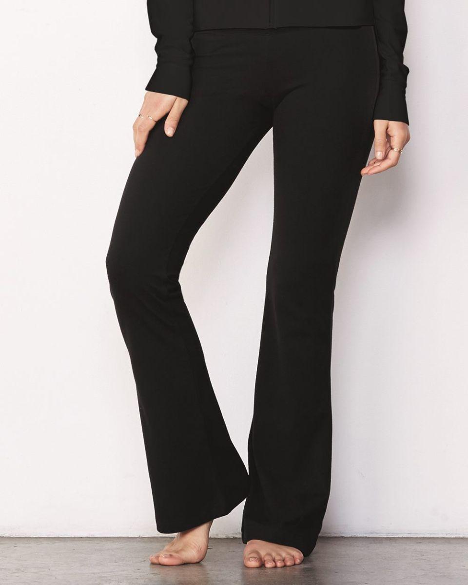 e3ef1b28974eb BELLA 810 Womens Cotton/Spandex Workout Pants